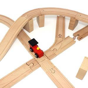 hairun Accessories with Wood Tracks Railway Trains