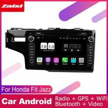 цена на ZaiXi For Honda Fit Jazz 2013~2019 Car Android Multimedia System 2 DIN Auto DVD Player GPS Navi Navigation Radio Audio WiFi