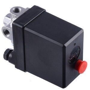 Image 5 - 1 Pcs 3 fase 380/400 V Interruttore di Pressione del Compressore Heavy Duty Compressore Daria Pressostato Valvola di Controllo Mayitr