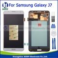 2015 blanco para samsung galaxy j7 j700 j700f j700m j700h asamblea pantalla lcd con digitalizador touch screen panel 20 pin + herramientas