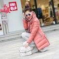 Дешевые оптовая 2017 Весна осень зима Горячие продажа женщины повседневная все-матч утолщение согреться Хлопка-проложенный моды Куртка