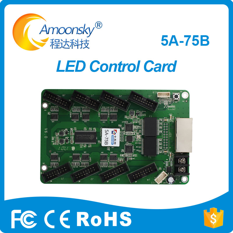 Colorlight 5A-75B LED Full Color Video Display Synchronous Control Card LED Screen Drive Board 5A 5A-75 Receiving Card LED цена