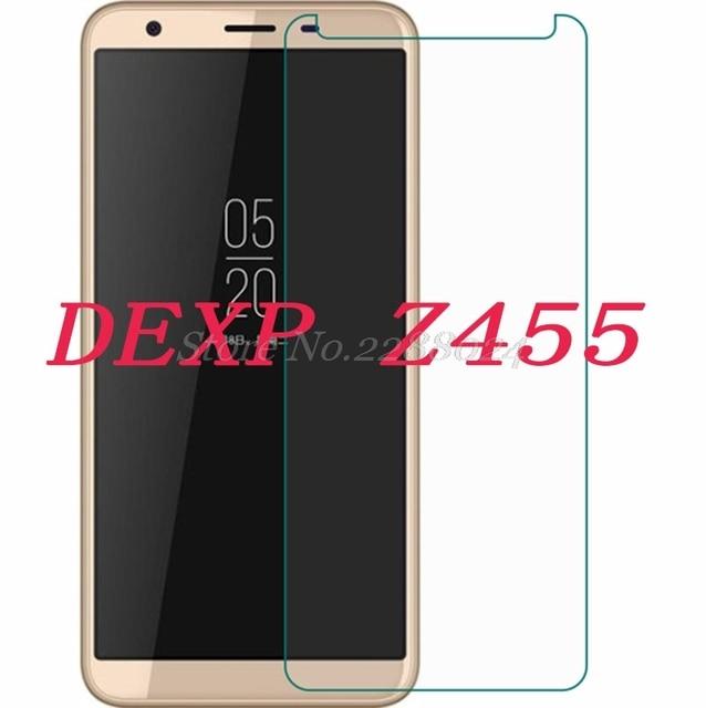"""Teléfono Inteligente 9 H vidrio templado para DEXP Z455 5,45 """"Protector de pantalla de película protectora a prueba de explosiones"""