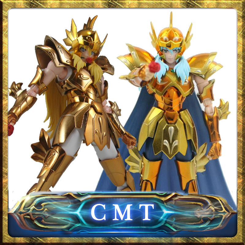 Instock  S-Temple Metal Club EX Pisces Aphrodite Saint Seiya Myth Cloth Gold Action Figure anime figure in stock death mask cancer saint seiya myth cloth ex s temple st metal club mc ex toy release 2017 4 02 paypal payment