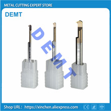 CNC thread turning tool,3-6mm the overall carbide lathe,small diameter hole tool,high-quality new nano-coating HRC60 degrees 2f 18 hrc60 carbide square flatted end mills coating nano two flute diameter 18mm the lather boring bar cnc machine