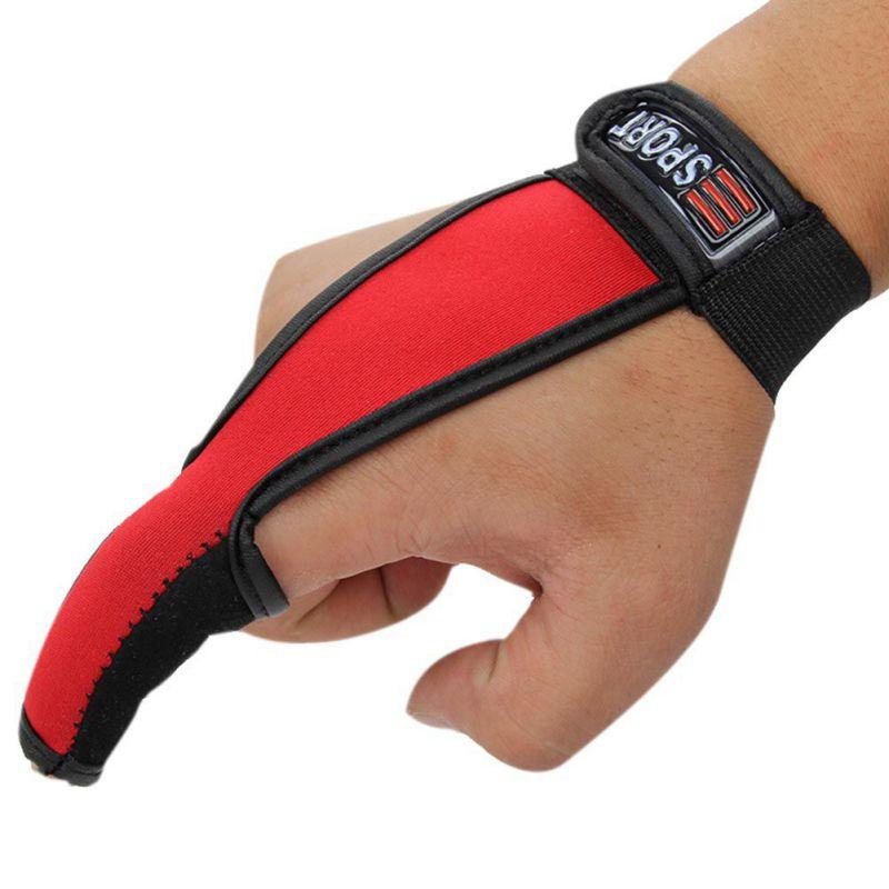 100% Quality Professional Fishing Tools Fishing Gloves Fishermen One Finger Surfcasting Non-sliding Gloves Single Finger Protector