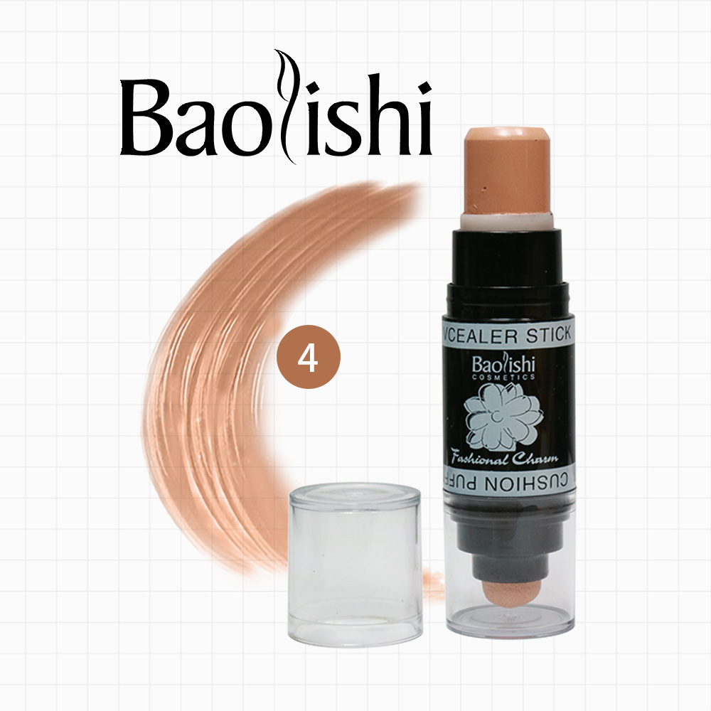 baolishi 6 color Perfect Concealer Doppelkopf Concealer und - Make-up - Foto 3