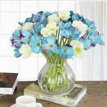 2pcs Artificial Flower Wild Poppies Simulation Poppy Bouquet Home Party Wedding Decor цена