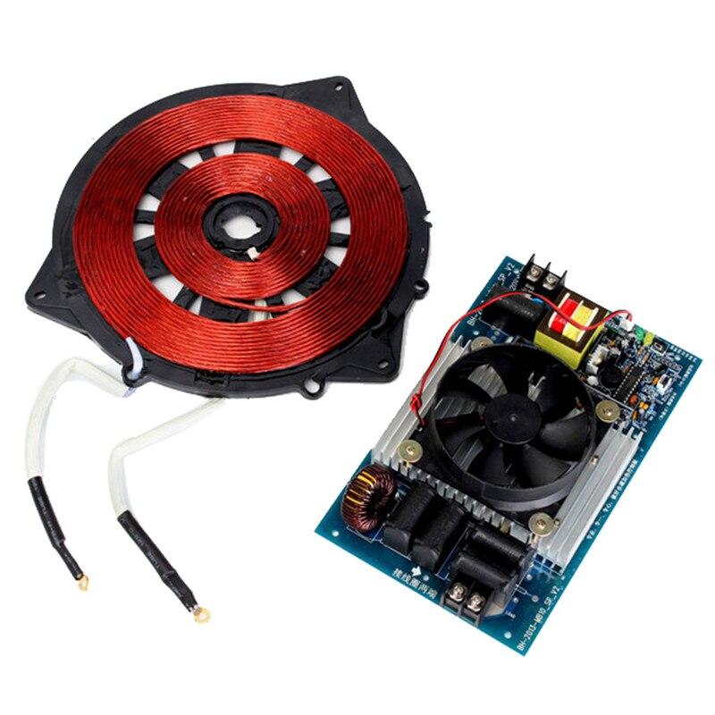 Réchauffeur d'induction 220 V 2500 W 20-25 kHZ avec le panneau de commande magnétique électrique de chauffage de bobine pour des pièces d'appareil de cuisine tout neuf