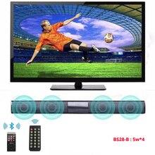 20 Вт ТВ bluetooth-колонка динамик 10 Вт fm-радио Система домашнего кинотеатра портативный беспроводной сабвуфер бас MP3 музыка бумбокс для xiaomi