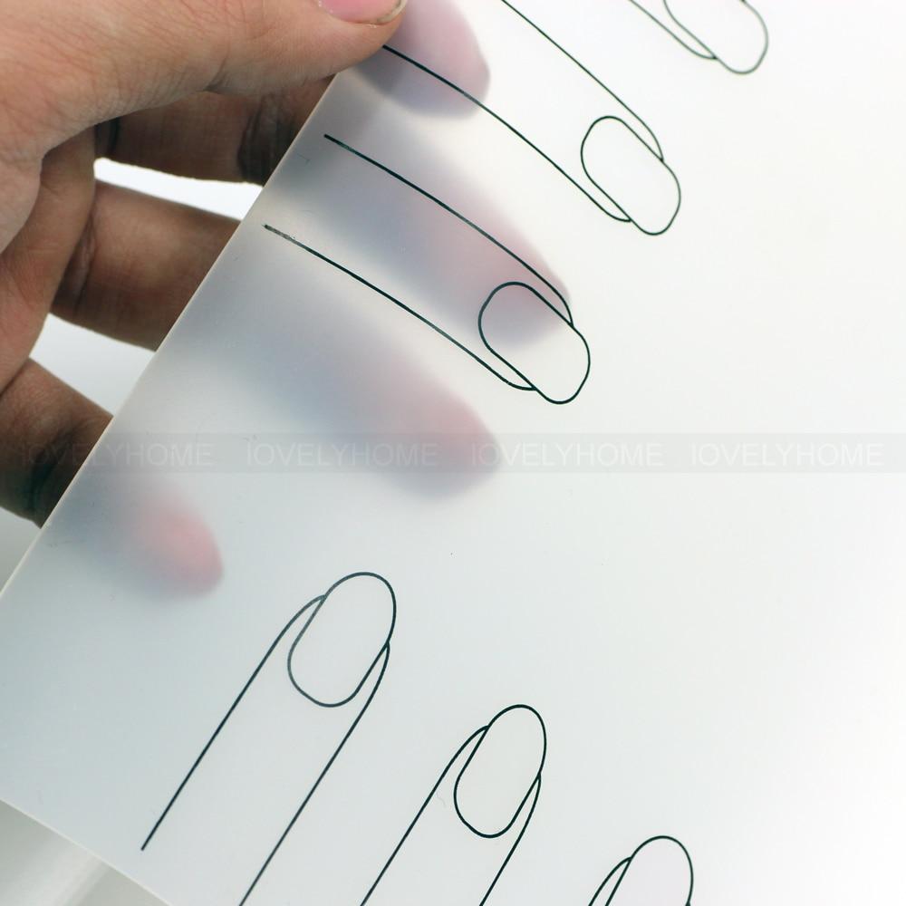 Professional Nail Art Work Space Mat Nail Stamp Stamping Plate ...