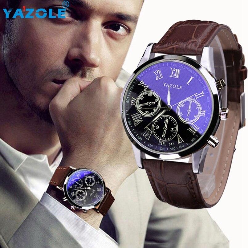 YAZOLE Wrist Watch Men Top Luxury Famous Wristwatch Male Clock Quartz Watch Hodinky Quartz Watch Relogio Masculino #A68