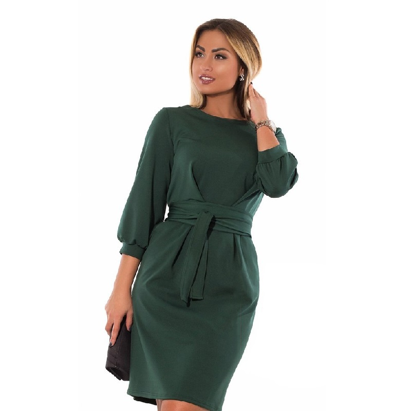 US $16.73 40% OFF|2019 Plus size summer dress bodycon bandage dress elegant  large black office dress waist peated big 5XL 6XL women dress female-in ...