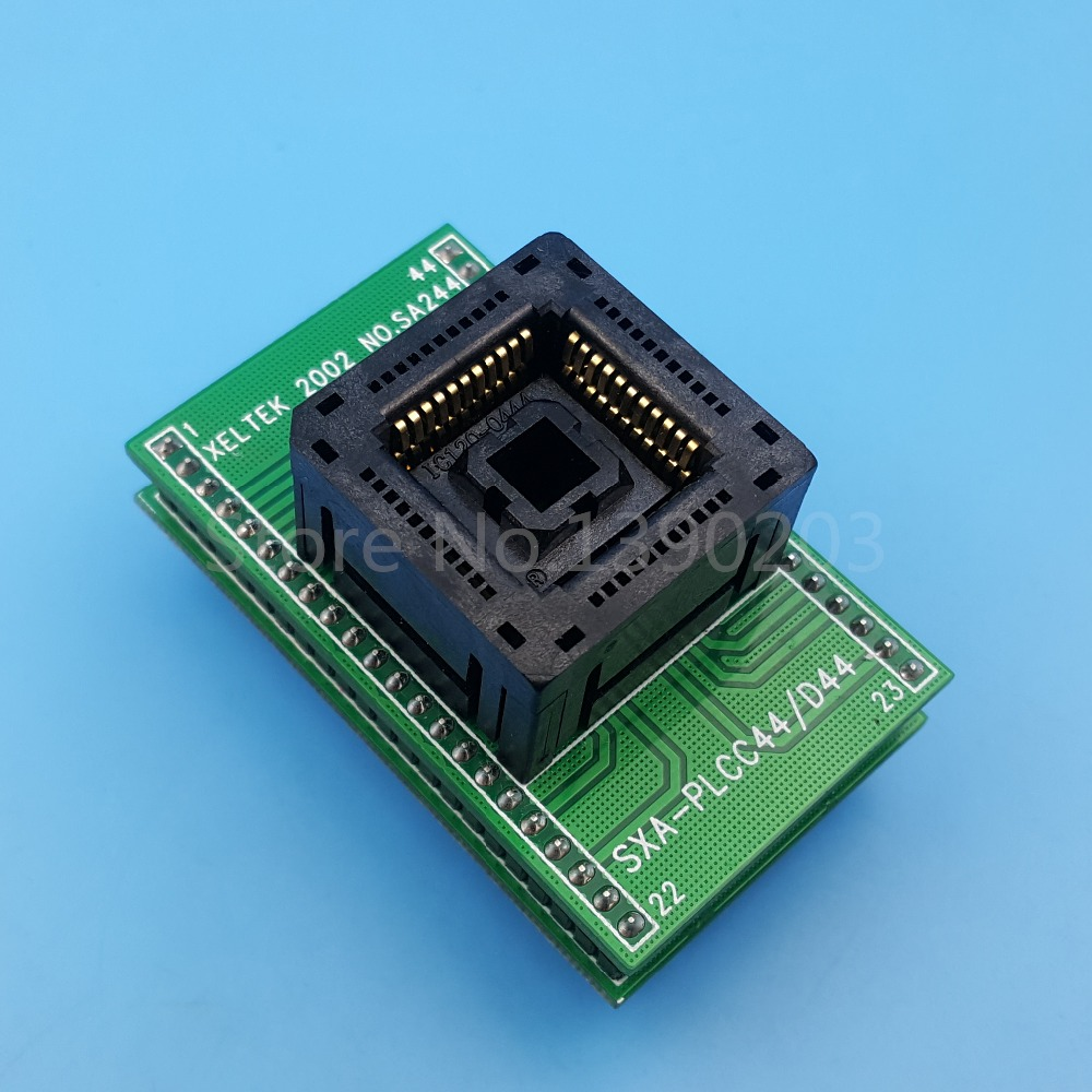 цена PLCC44 TO DIP44 IC Programming Adapter PLCC44 Chip Test Socket