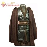 Star Wars Jedi Anakin Skywalker Sith Darth Vader Cosplay Costume Robe Cloak Suit