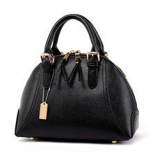 Classical Design Solid Genuine Leather Bags For Women Best Quality Cheap Designer Handbags Useful Fashion Zippers Women Bags
