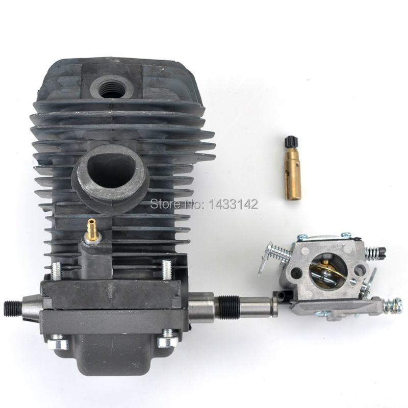 42.5mm Cylinder Piston Crankshaft & Carburetor for Stihl 023 025 MS 230 MS 250 Motosierra Chainsaw #1123 020 1209 42 5mm crankshaft cylinder piston kits for stihl 023 025 ms230 ms250 chainsaw air fuel filter oil pump