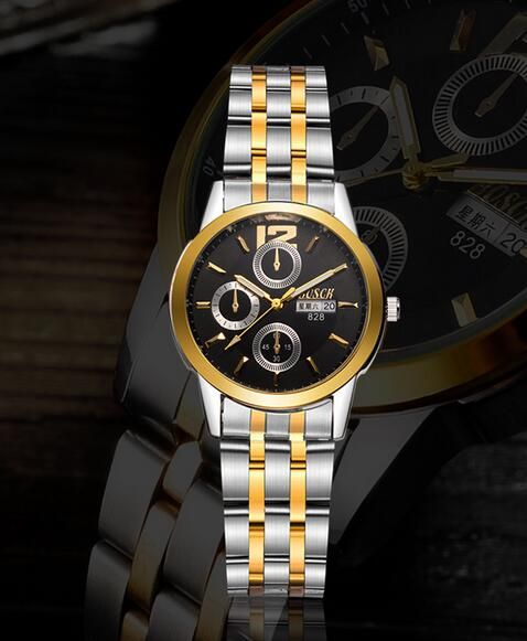 Watch mens business classic watch explosion models independent second hand with calendar quartz watch 688#Watch mens business classic watch explosion models independent second hand with calendar quartz watch 688#