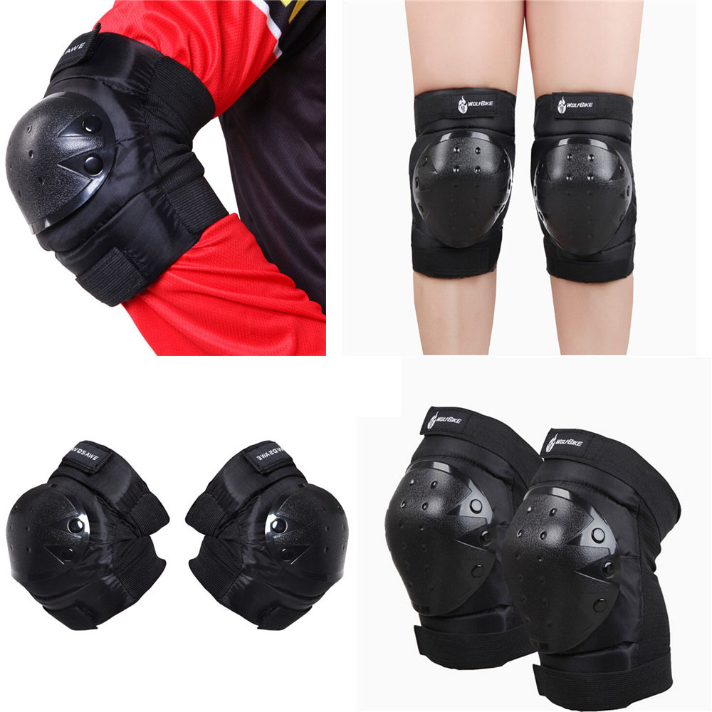 Motor Motorcycle Elbow Knee Protection Guard Support Gear