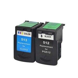 Image 4 - YLC Compatibile PG512 CL513 per Canon pg 512 cl 513 cartuccia di inchiostro per Pixma MP230 MP250 MP240 MP270 MP480 MX350 IP2700 stampante
