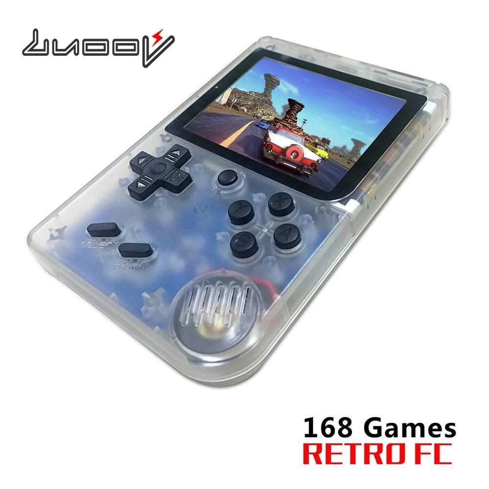 LUOOV lecteur nostalgique intégré 168 jeux classiques Console de jeu vidéo 8 bits rétro poche Console de jeu portable Portatil