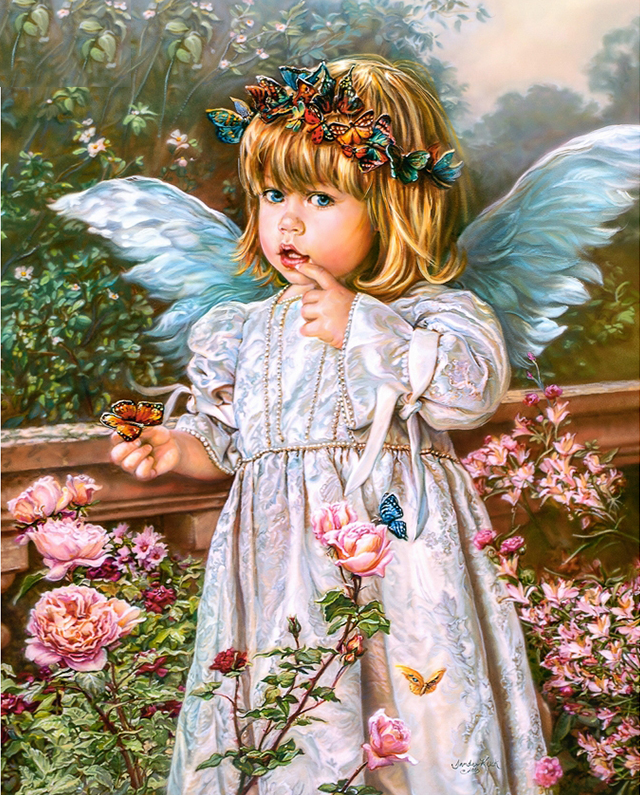 картинки с детьми-ангелами картинке есть