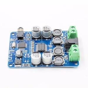 Image 2 - TDA7492P Bluetooth 4.0 V4.0 V2.1 Audio Receiver Versterker Board Module Met Aux Interface 2*25W Drive Speaker Aux interface