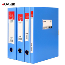 Office File Box Paper Storage Box A4 Big Capacity Business Briefcase Filing Products File Folder Office Stationery Supply HJ5620 coloffice 2018 new impression a4 paper color dot folder four color business office folder data storage folder new filing product
