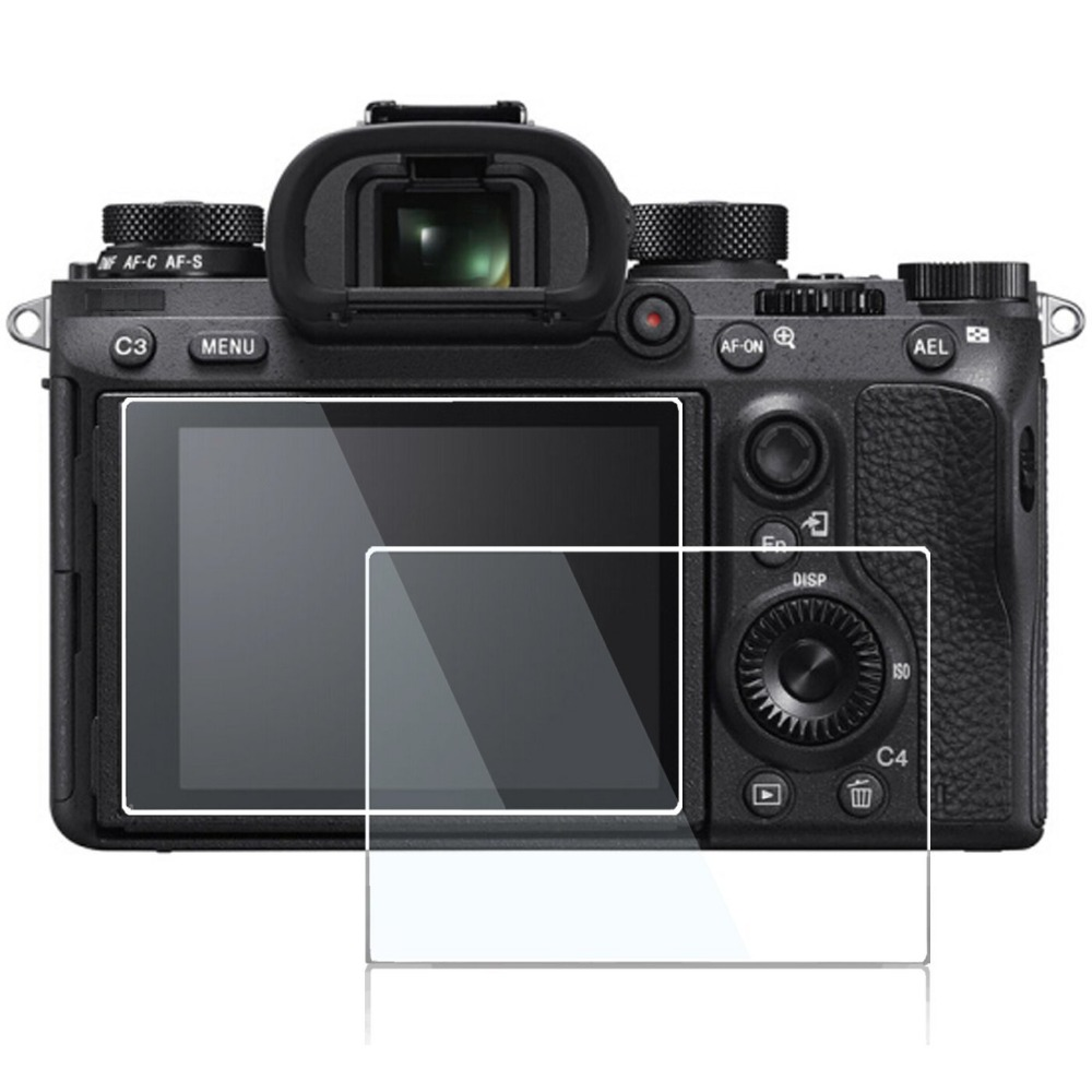 2 pack 0.3mm Glass LCD Screen Protector for Sony Alpha SLT-A99 / SLT A99 Digital Camera