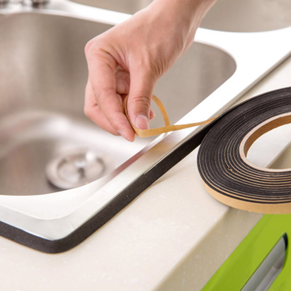 Sealing-Tape Gadgets Bathroom-Wall Kitchen Household Waterproof 1x200cm 18 Mould-Proof