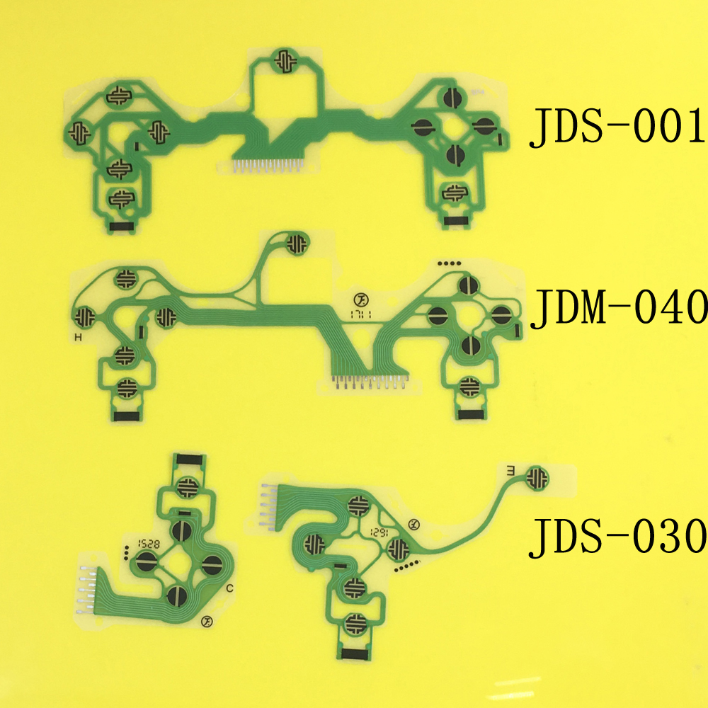 Jing Cheng Da JDS-001 JDS-030 JDM-040For Playstation 4 PS4 Controller Ribbon Circuit Board For Dualshock 4 Film Pad