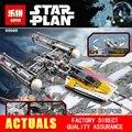 Лепин 05065 Новый 691 Шт. Звезда Серии Война y-крыла Истребителей Строительные Блоки Кирпичи Развивающие Игрушки 75172