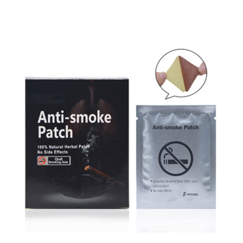 35pcs Natural Ingredient Nicotine Patches Stop Smoking Cessation Patch