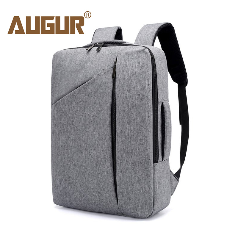 AUGUR Hand Luggage Bag Backpack Men Bag For Laptop Computer Large Backpack Male Fashion Business Travel Backpack Mochila Hombre augur new european fashion retro style men canvas bag packs male female couple large capacity travel computer backpack homme