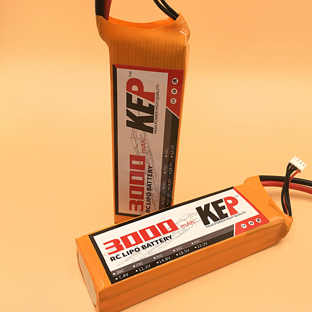 KEP 3S RC Lipo Battery 11.1v 3000mAh 30C For RC Aircraft Helicopter Car Boat Drones Quadcopter Airplane Li-polymer 3S 30C AKKU 1s 2s 3s 4s 5s 6s 7s 8s lipo battery balance connector for rc model battery esc