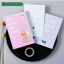 30pcs cute cartoon memory postcard invitation Greeting Cards gift cards Christmas postcard & invitation