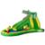 Yard envío gratis para venta caliente zona de cocodrilo gorila inflable Tobogán hinchable con Piscina Feliz Juego de Agua Para Niños jugar