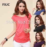 Free Shipping Fashion Leisure T Shirts M6 T Shirt 2013 Women Long T Shirts