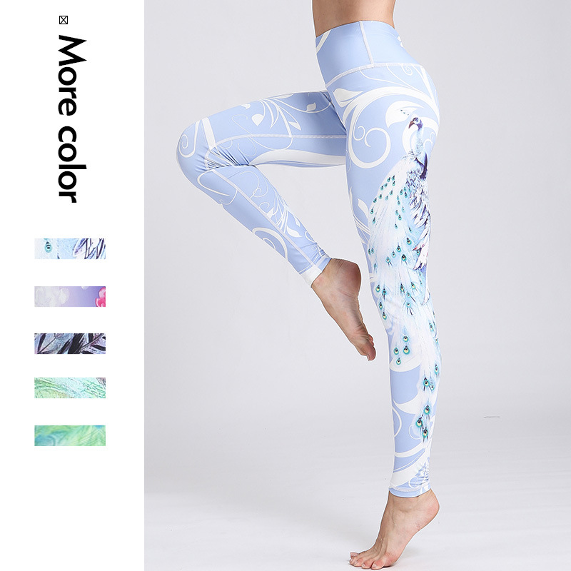 New Women 39 s Fitness Apparel Yoga Pants for Outdoor Sports in Europe and America in Yoga Pants from Sports amp Entertainment