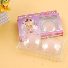 Fantasy Reusable Silicone Breast nipple Pasties Pads Covers Bra Waterproof Self Adhesive 4FN031+Free shipping