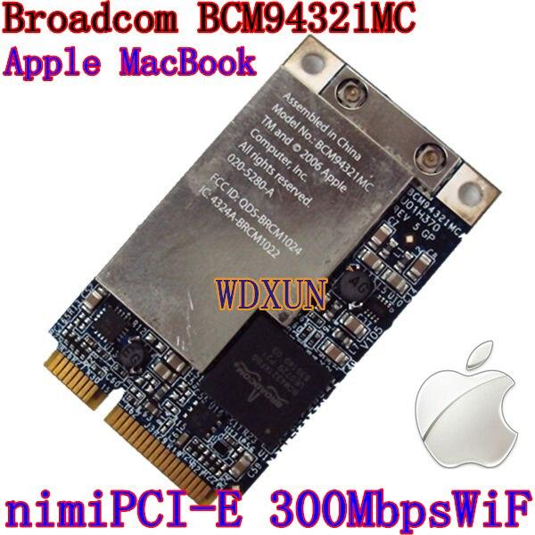Broadcom BCM94321 BCM94321MC WiFi wireless wlan 300Mps Mini pcie Card