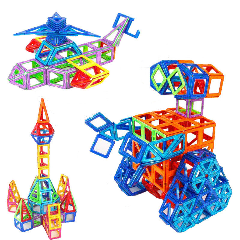44pcs magnetic building blocks toys magnetic designer toys for children magnetic toys for kids children's educational toys dayan gem vi cube speed puzzle magic cubes educational game toys gift for children kids grownups