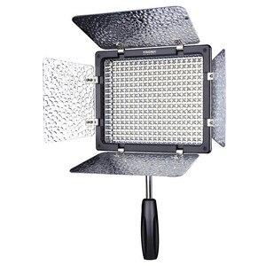 Image 2 - YONGNUO YN300III YN300 III YN 300III 3200k 5500K CRI95 foto de cámara luz LED para vídeo opcional con adaptador de corriente AC + KIT de batería