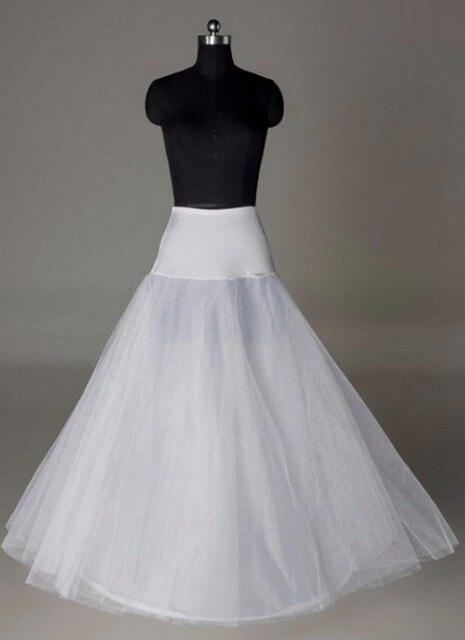 Wedding accessories 2016 new arrival hoop for gowns Petticoat 1 Hoop Bone Elastic cheap petticoats Bridal Petticoat underskirt