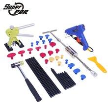 PDR Paintless De Voiture Dent Repair Tool set Glisser Marteau Colle Gun Dent Puller outils de réparation de carrosserie Dent removal tool kit
