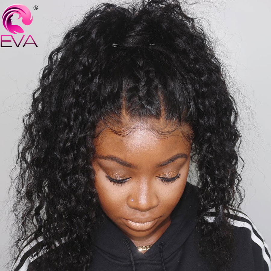 Eva Hair Silk Base Lace Front Human Hair Wigs For Black Women Pre Plucked Hairline Brazilian