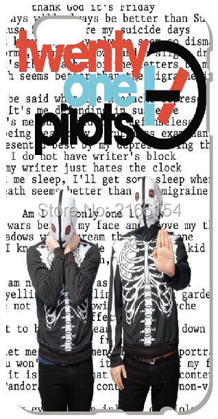 twenty one pilots For iphone 5 5S SE 5C 6 6S 7 Plus Touch 5 6 For Samsung Galaxy S3 S4 S5 Mini S6 S7 Edge Note 3 4 5 C5 Case