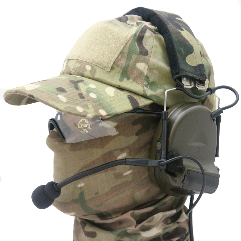 Outdoor Z Tactical Comtac II Headset for Airsoft Paintball Hunting Headset (Z 041)