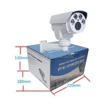 Free shiping MINI PTZ AHD 1920×960 10X Auto Focus Zoom 5-50mm HD Lens Bullet IR Waterproof CCTV Camera with DC Power Supply