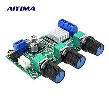 AIYIMA TPA3116D2 Eindversterker Board 2*80 W Stereo 2.0 Kanaals Digitale Audio Versterkers AMP Met Bass Treble Aanpassing